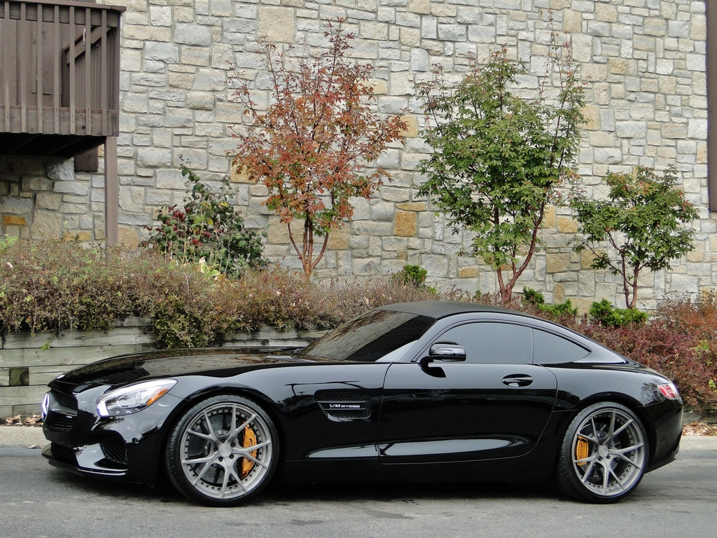 Mercedes benz amg gts on velos wheels benztuning for Mercedes benz 17 amg rims