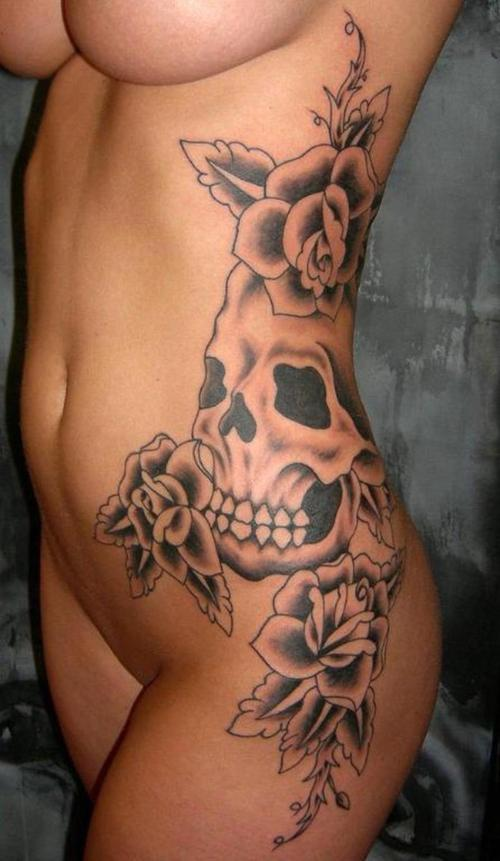 Pics Of Skulls Tattoos