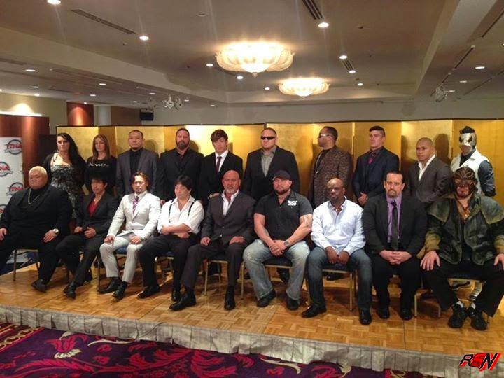 Photo from TNA's Hall of Fame Ceremony.