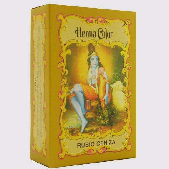La \u0026quot;henna rubio ceniza\u0026quot; es en realidad Cassia con cáscara de nuez, como bien dice en los ingredientes de la caja de Radhe Shyam.