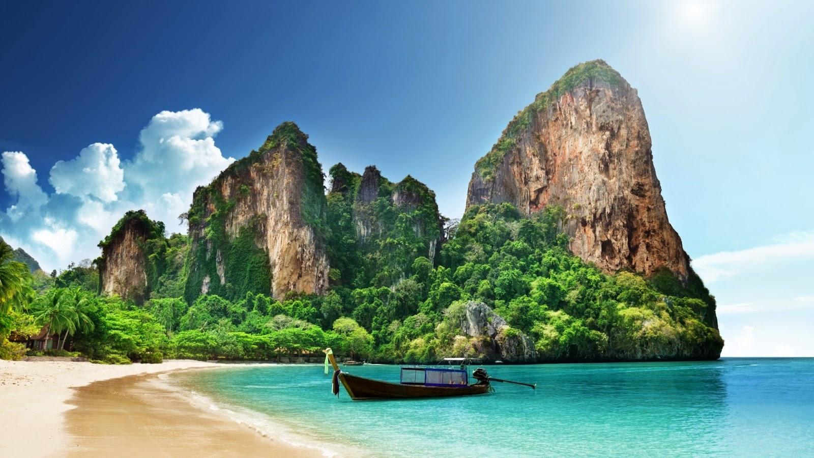 Les 8 plus belles plages de Thailande - Railay Beach
