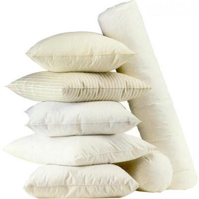 Propiedades de las almohadas de fibra