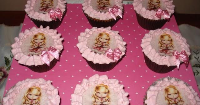 Emp rio de doces cupcakes boneca jolie - Jolie cupcake ...