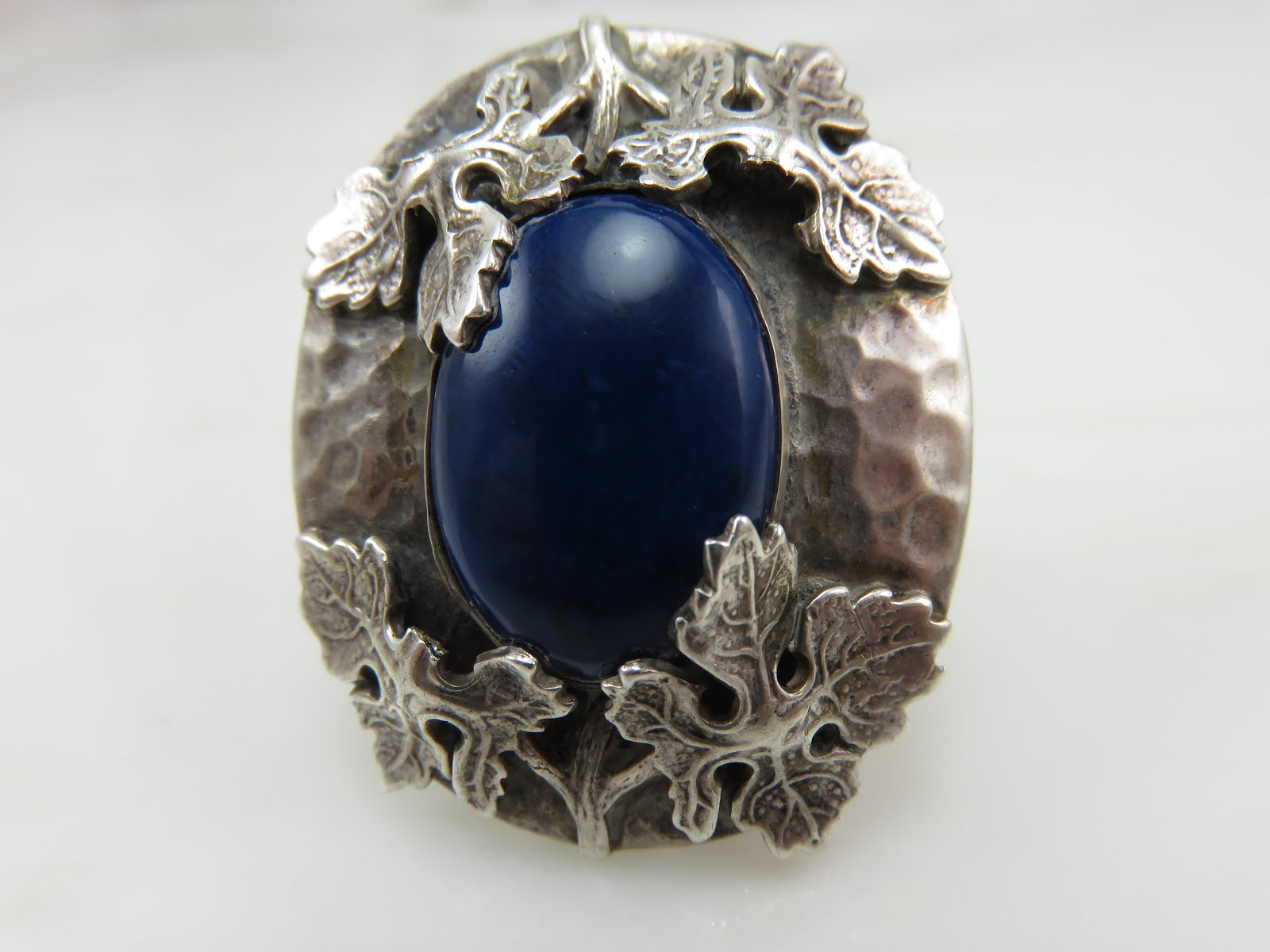 Arts & Crafts Era Silver Ring