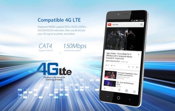 Elephone P6000 - Connectivity