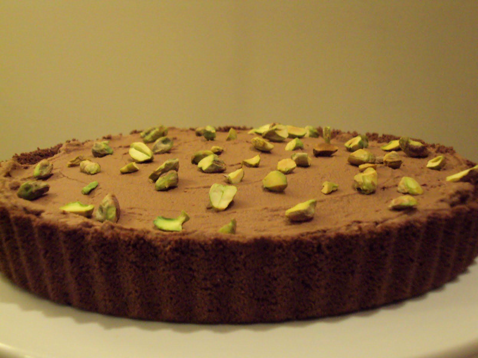 Jolts & Jollies: Easy Chocolate Tart with Pistachio with Me, My Food ...