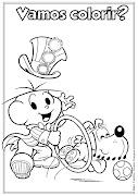 Desenho de Dia do Circo para colorirTurma da Mônica (desenho de dia do circo para colorir ideia criativa lindas imagens )