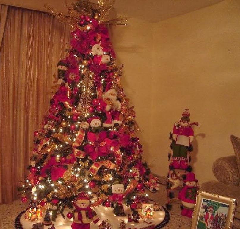 Carlo de carrasco decorweekend rbol de navidad estilos - Decoraciones arboles de navidad ...