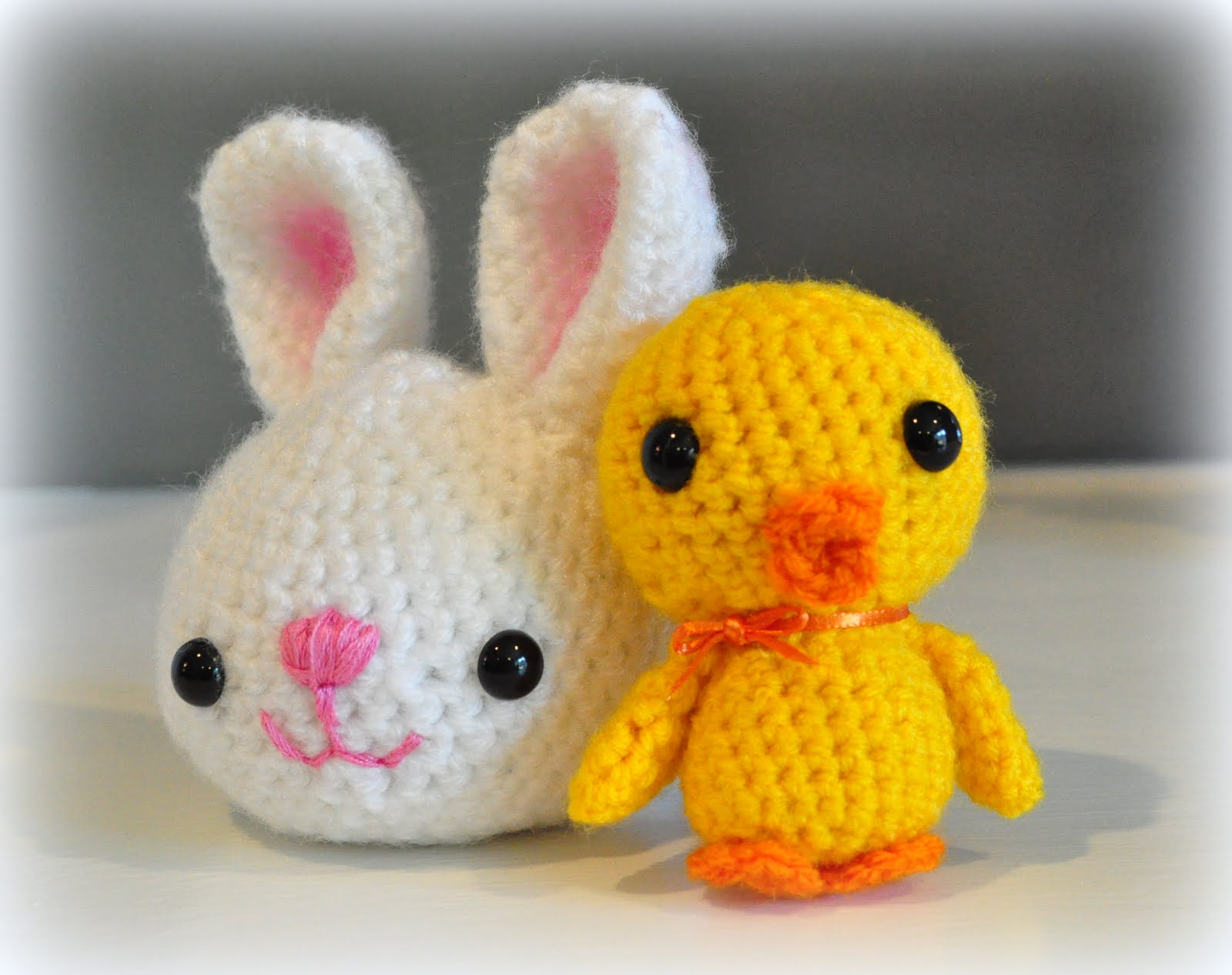 Free Crochet Pattern Easter Chick : ...just being Judy: Easter Amigurumi