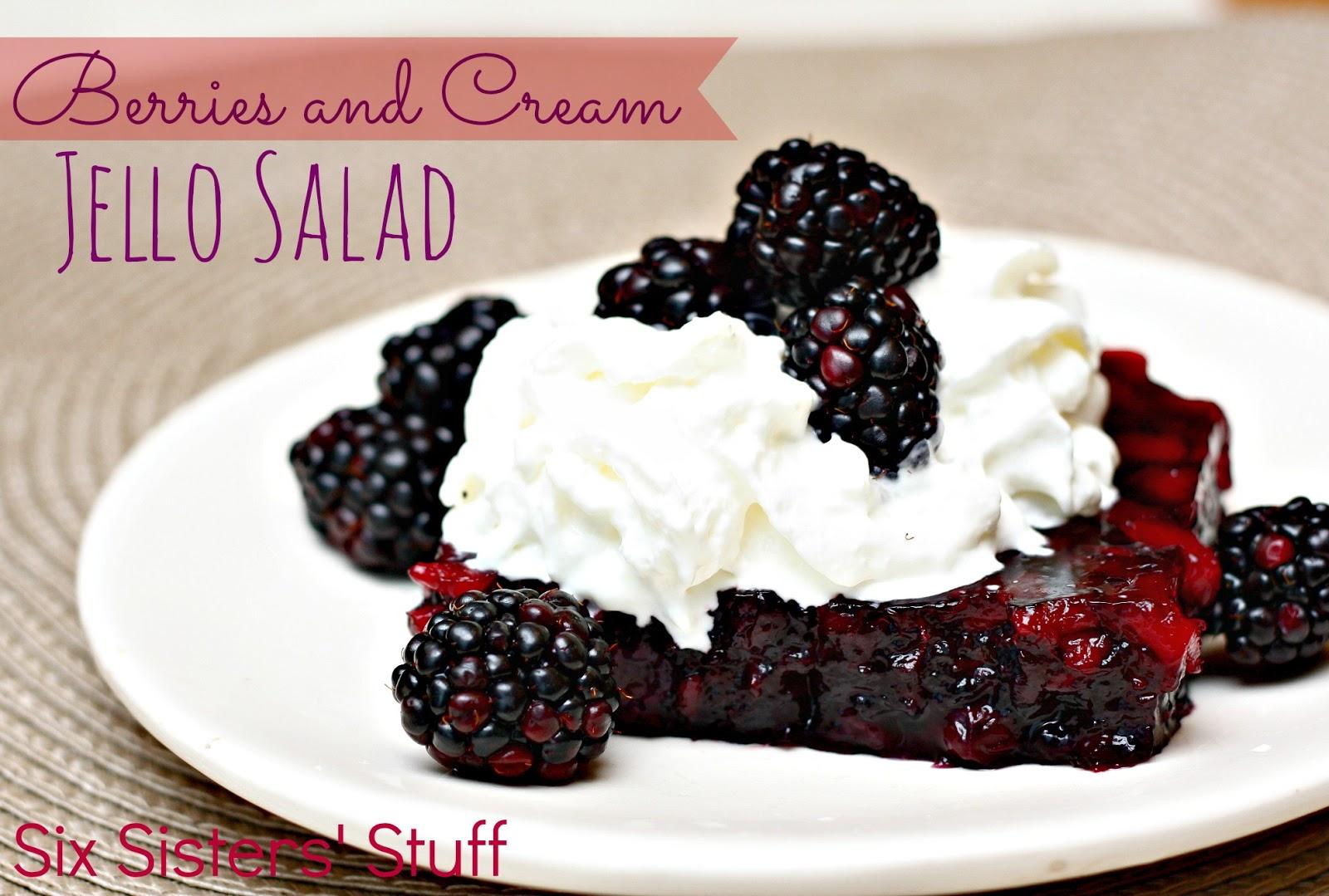 Blackberry jello salad recipes