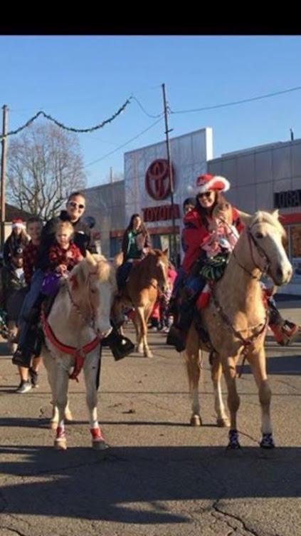 Christmas parade fun!