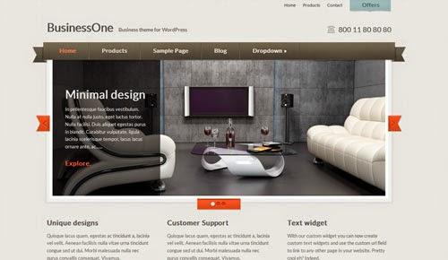 BusinessOne Cssigniter Wordpress Theme Version 1.2 free