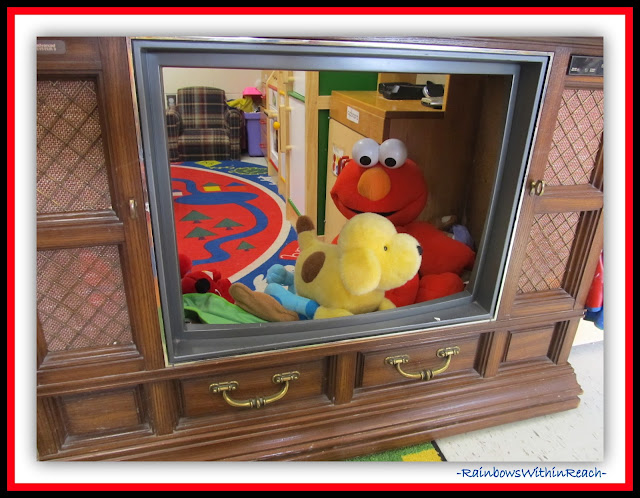 Preschool Reality TV!  (Classroom Decor RoundUP at RainbowsWithinReach)