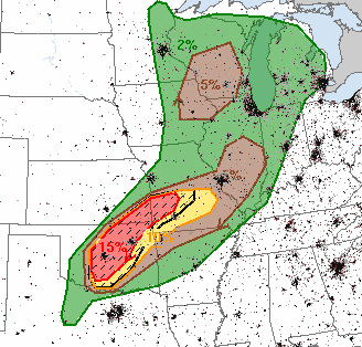Mike Smith Enterprises Blog: Tornado Risk Increasing Today and Tomorrow