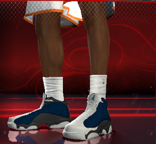 NBA 2K13 Air Jordan XIII Flint Shoes Patch