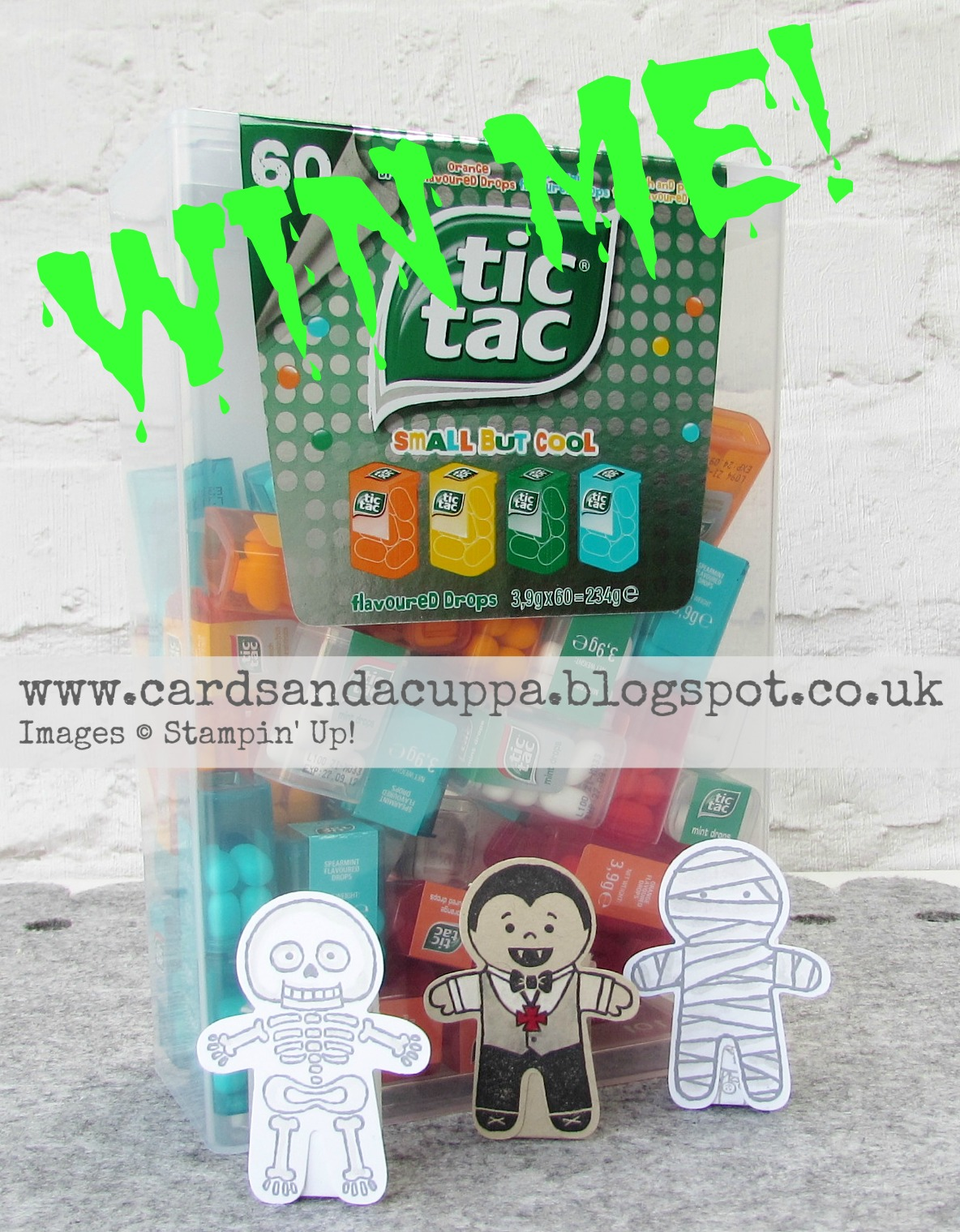 WIN your own box of mini tic tacs to decorate!