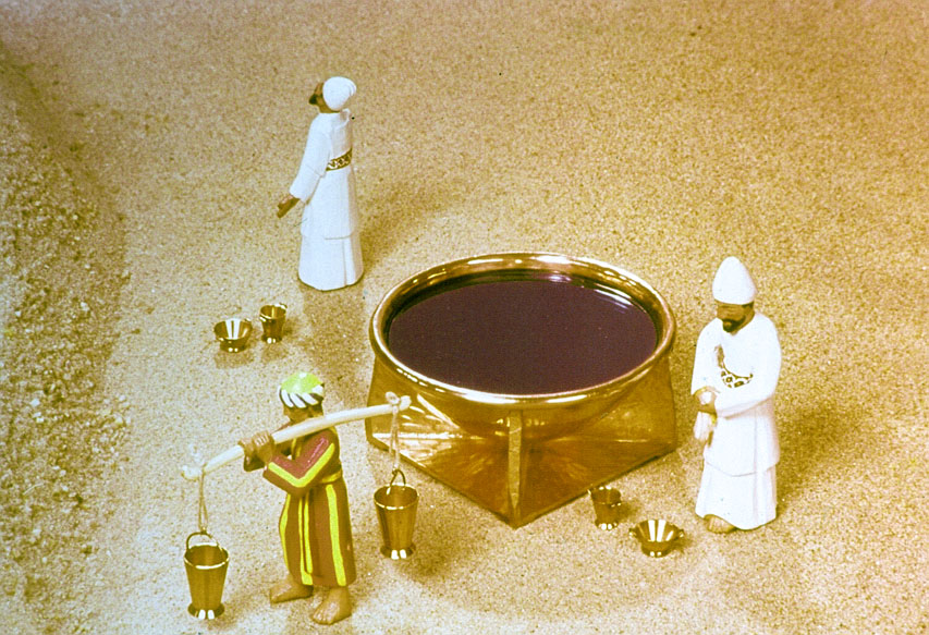 El Tabernáculo, Parte 9. El Altar de Bronce