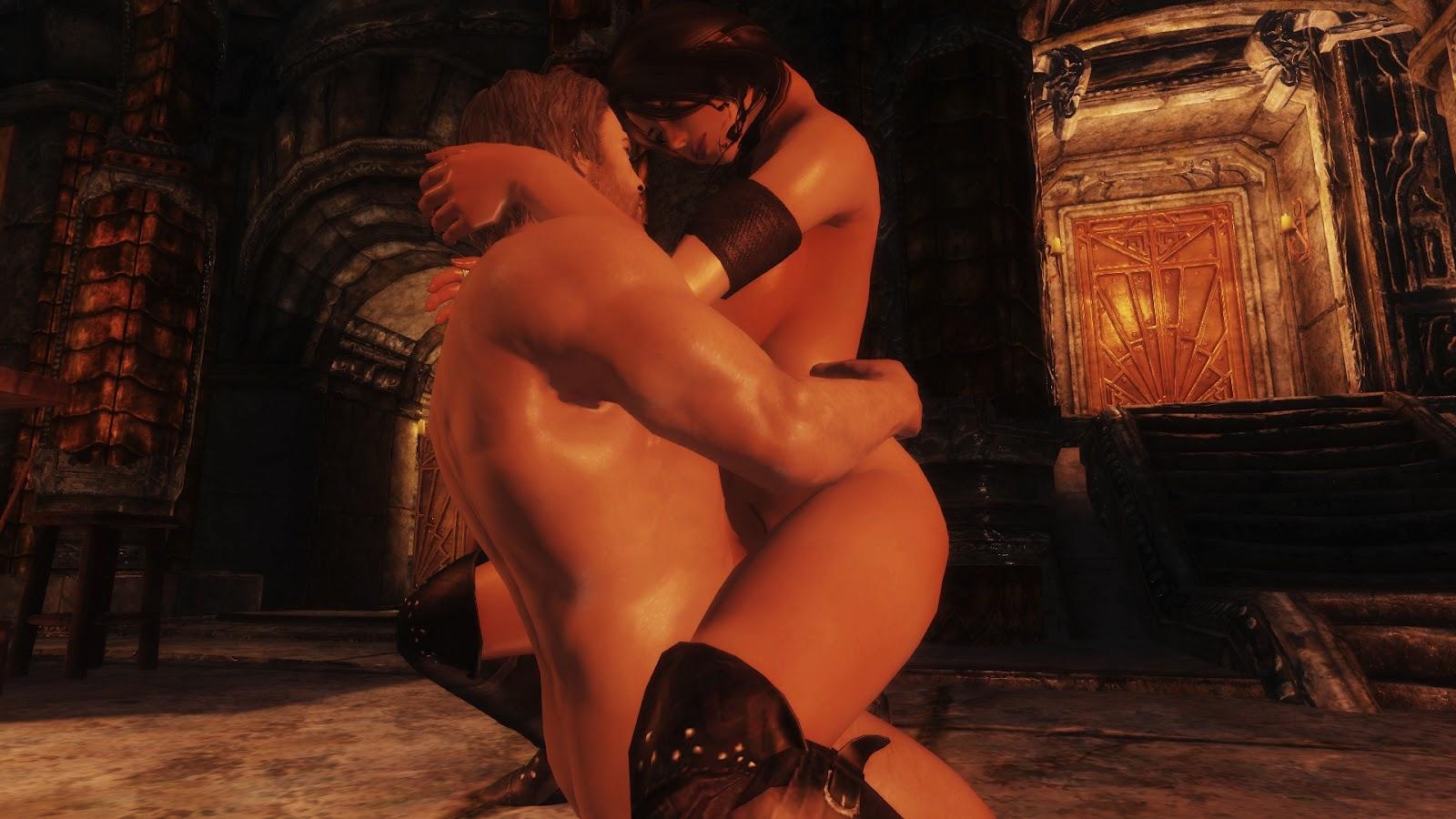 Skyrim hd nud hentai clip