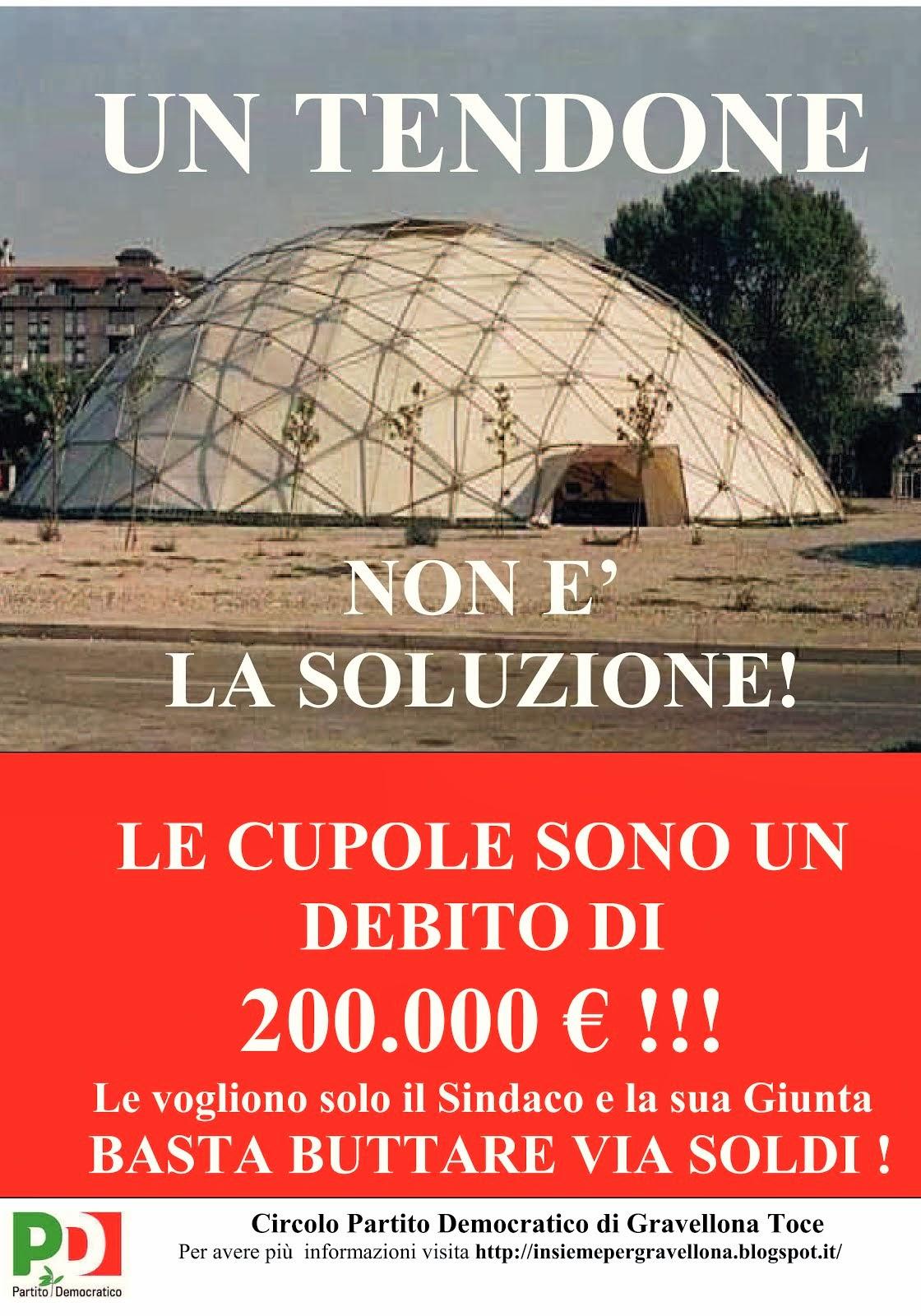 NOI L'AVEVAMO DETTO NEL 2012 !