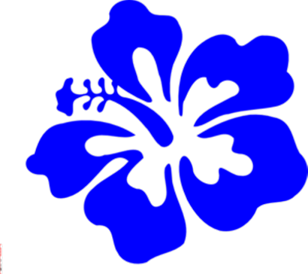 hawaiian flowers clip art free