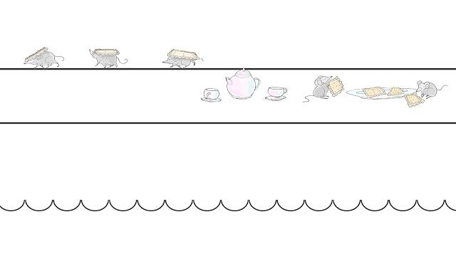 Topi che rubano biscotti a colazione