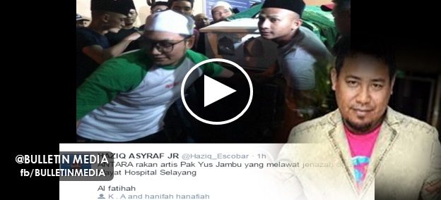 GAMBAR dan VIDEO Jenazah Yus Jambu Dibawa Ke Perlis Untuk Dikebumikan