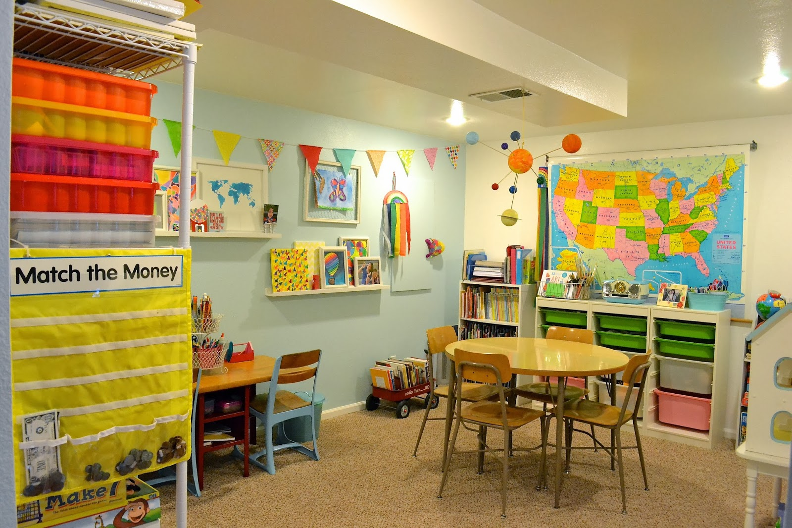 Home School Furniture Awesome Real Life One Day At A Time Our Homeschool Room Review