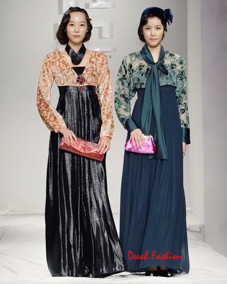 Inspirasi Busana Muslim Hanbok Korea