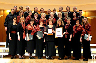 Cesis Castle Choir after victory in Gdansk International Choir Competition
