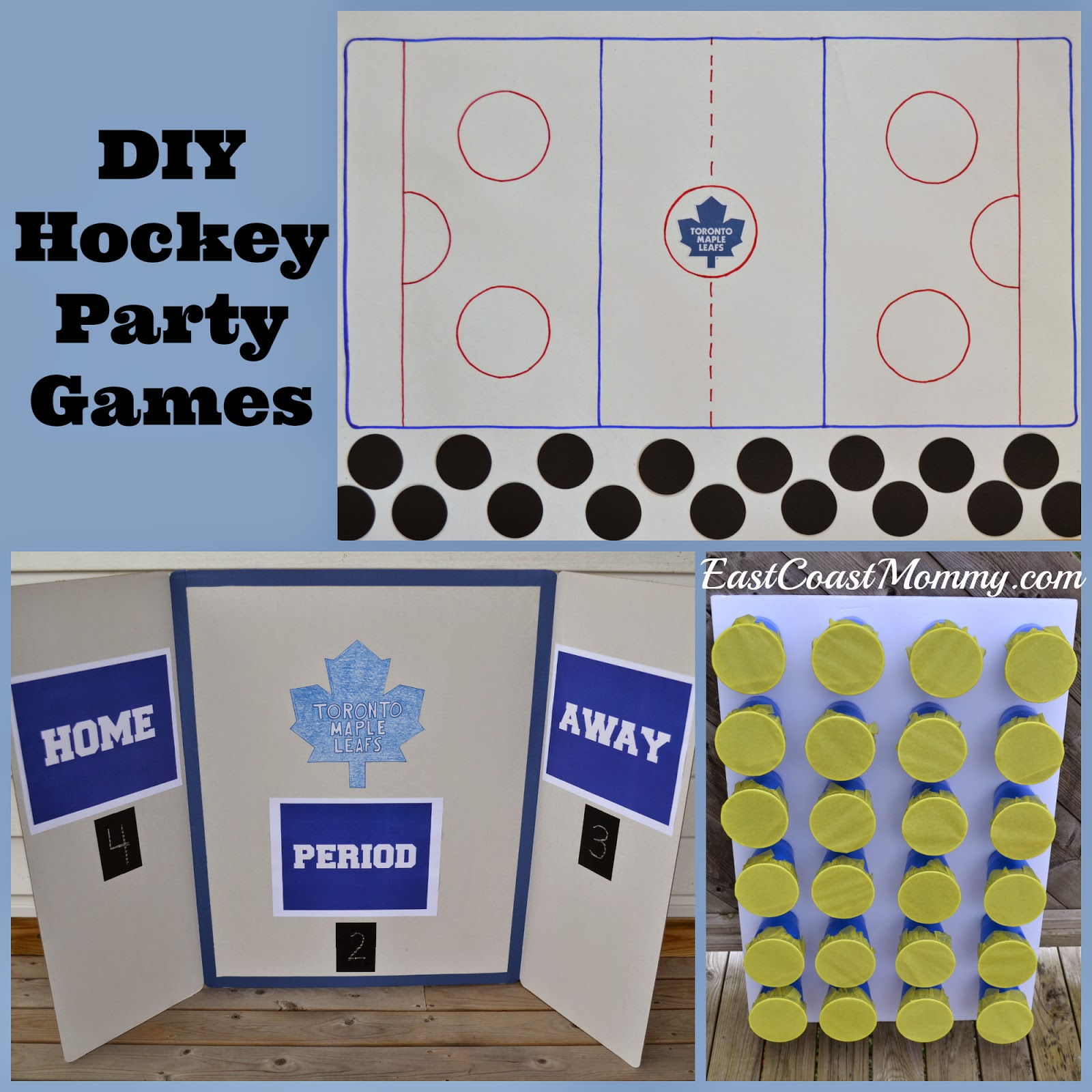 east coast mommy hockey party games