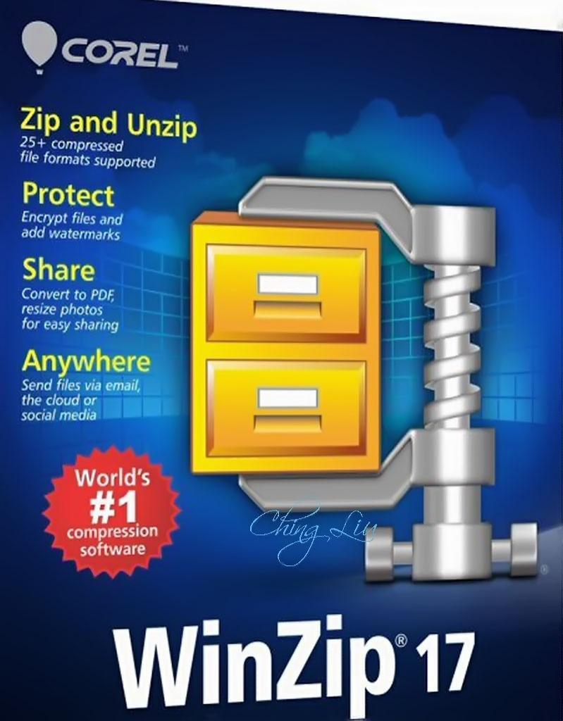 WinZip Pro 17.5 Build 10480 (32 - 64 bit) + keys (FULL)