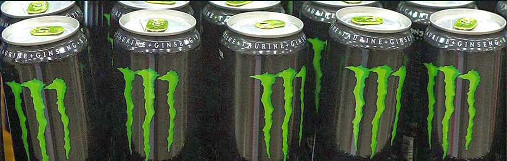 What fuels us! Monster Energy