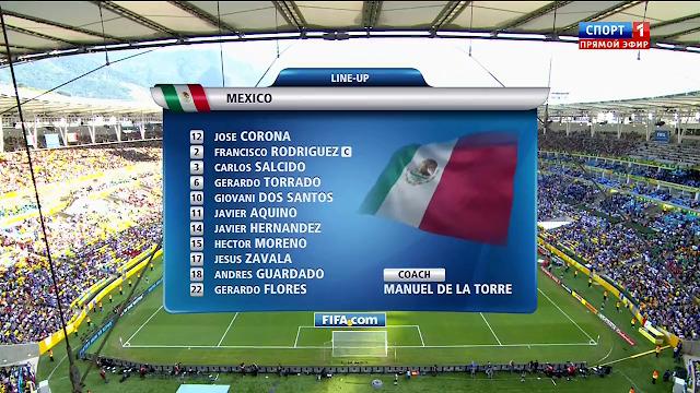 Mexico vs Italia