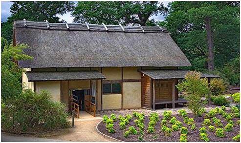 Storia dell architettura climatica clima caldo e umido for Casa giapponese tradizionale