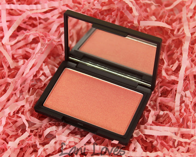 Sleek Rose Gold blush swatches & review
