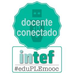 Emblema de docente conectado