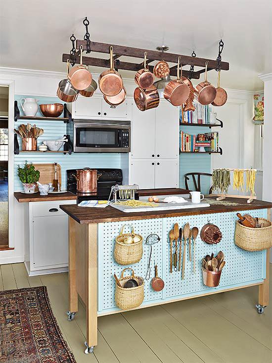 panelas penduradas, hold pan, organizar panelas, cozinha, kitchen