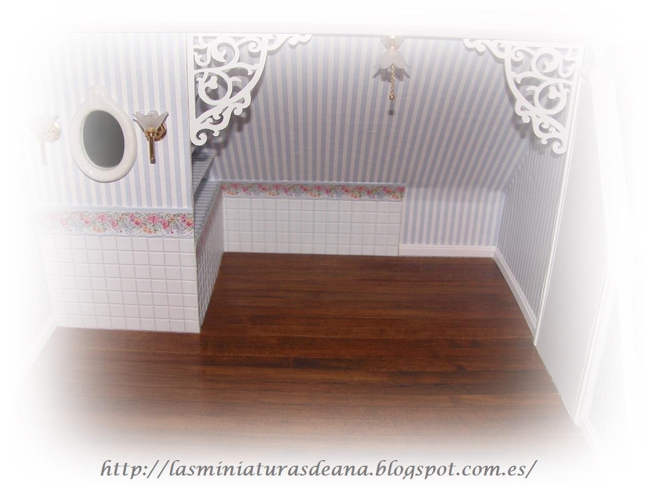 Las miniaturas de ana el ba o reformado for Accesorios para poner toallas en el bano
