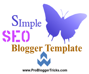 Simple White Blogger Template