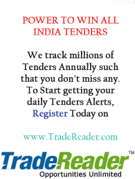 Reg Here For Tenders Alert