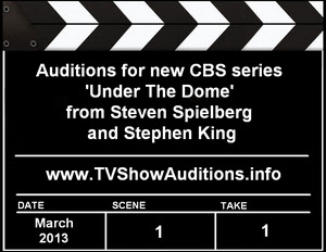 CBS Series Under The Dome Auditions Casting Calls