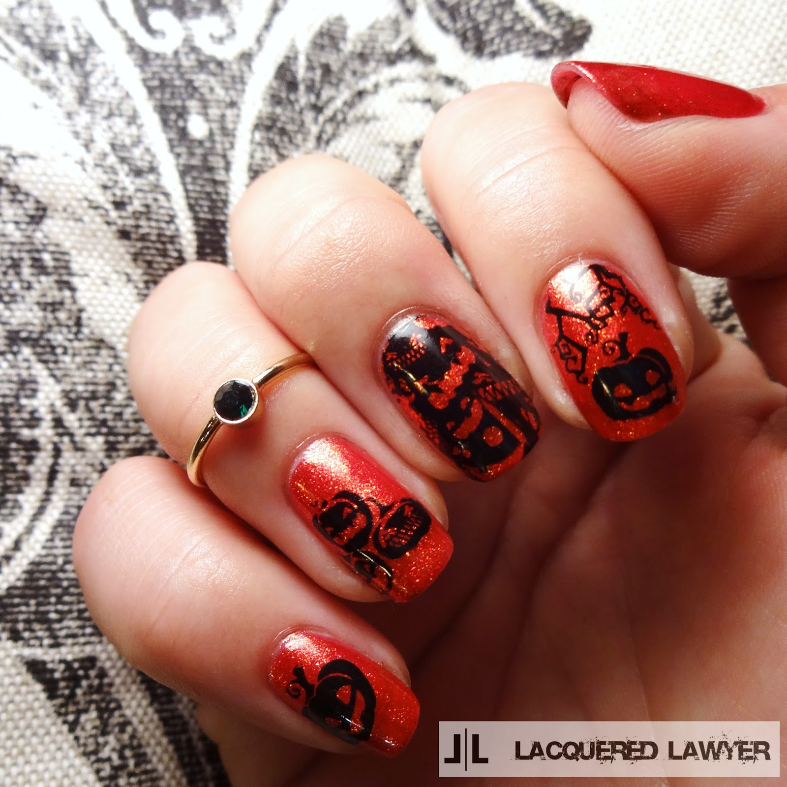 Lacquered Lawyer | Nail Art Blog: Jack-O-Lanterns