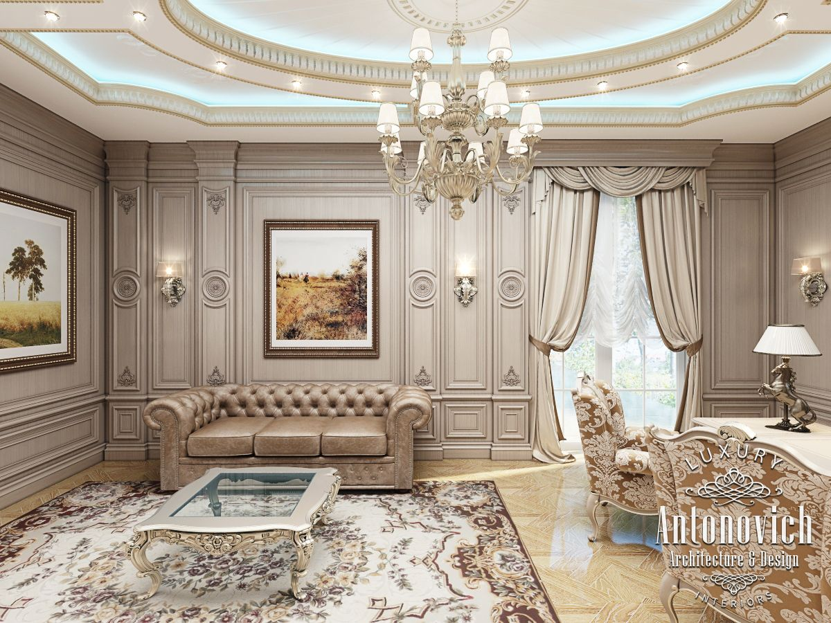 Luxury Antonovich Design Uae Office Design By Kateryna