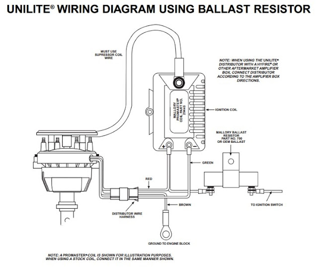 ford hei distributor wiring diagram chevy 350 hei distributor ...