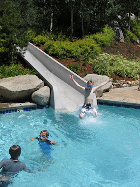waterslide at tahoe