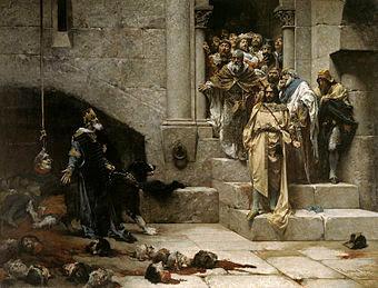 José Casado del Alisal, La campana de Huesca
