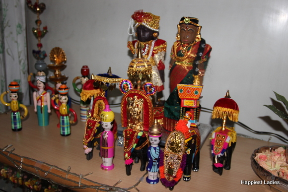 Doll arrangment for Navaratri