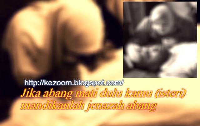 Kisah Si Isteri Mandikan Jenazah Suami