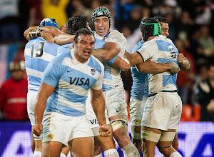 Histórico triunfo de Los Pumas