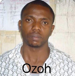 Nigerian man Ozoh Ikenna arrested in Lagos trying to smuggle out $34k wrapped in pellets!